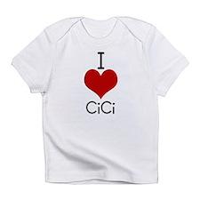 i love cici Creeper Infant T-Shirt