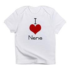i love nene Creeper Infant T-Shirt