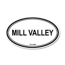 Mill Valley oval 20x12 Oval Wall Peel