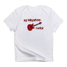 My Babysitter Rocks! Infant T-Shirt