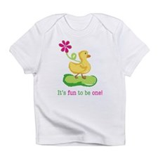 First Birthday Duckie Infant T-Shirt