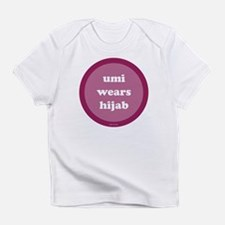 Umi Wears Hijab Creeper (fuchsia) Infant T-Shirt