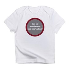 Ma Sha' Allah Creeper (gray + red) Infant T-Shirt