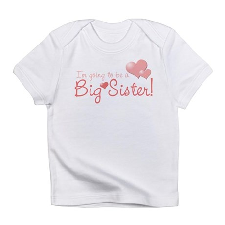 valentine's day big sister Infant T-Shirt