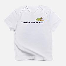 ::: Daddy's Little Co-Pilot ::: Infant T-Shirt