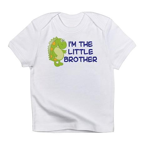 i'm the little brother dinosaur Infant T-Shirt