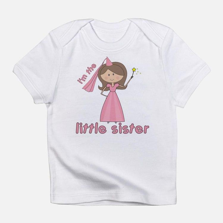 i'm the little sister princess Infant T-Shirt