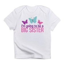 butterfly big sister to be Infant T-Shirt