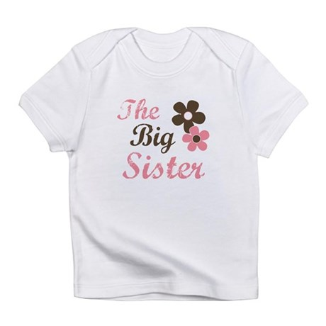 the big sister flower Infant T-Shirt