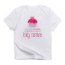 sweetie big sister shirt Infant T-Shirt