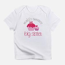 world's sweetest big sister Infant T-Shirt