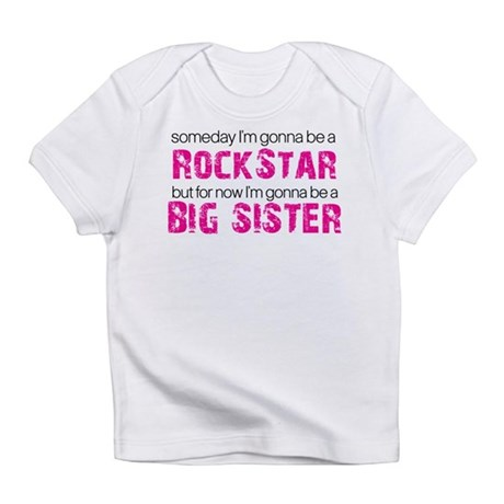 rockstar big sister Infant T-Shirt