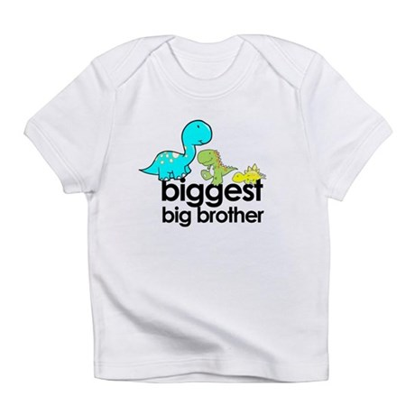 big brother dinosaur Infant T-Shirt