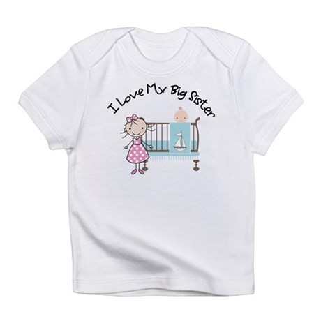 little brother big sister matching shirts B Infant