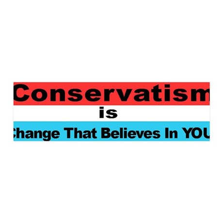 """""""Conservatism is Change That 36x11 Wall Peel"""