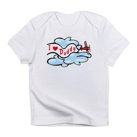 I Love Daddy Airplane Baby/Toddler Infant T-Shirt