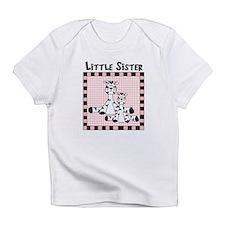 Little Sister Cute Zebra Babys Infant T-Shirt