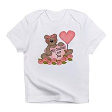 My Cousins Love Me CUTE Bear Infant T-Shirt