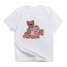 My Cousin Loves Me CUTE Bear Infant T-Shirt