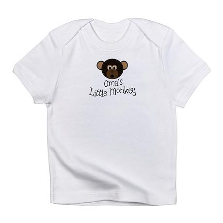 Oma's Little Monkey BOY Infant T-Shirt