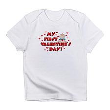My 1st Valentine's Day BOY Infant T-Shirt