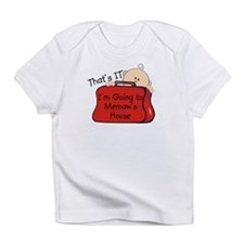 Going to Memaw's Funny Infant T-Shirt