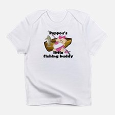 Pappou's Fishing Buddy Infant T-Shirt