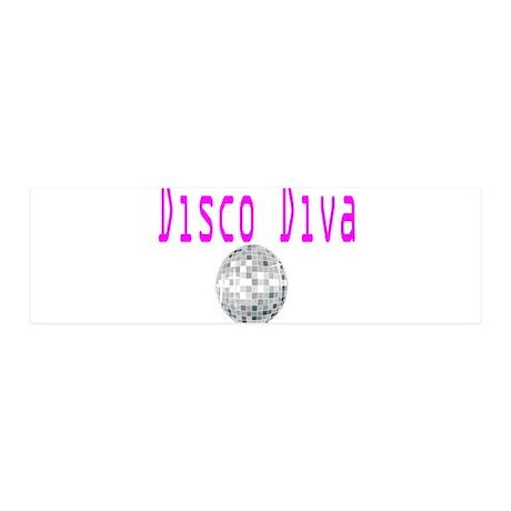 Disco Diva 36x11 Wall Peel