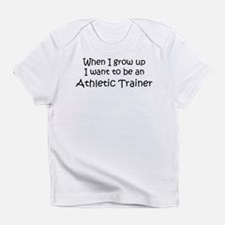 Grow Up Athletic Trainer Creeper Infant T-Shirt