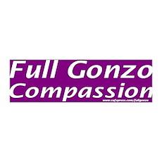 Full Gonzo Compassion 36x11 Wall Peel