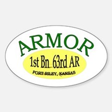 1st Bn 63rd Armor Decal