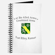 1st Bn 63rd Armor Journal