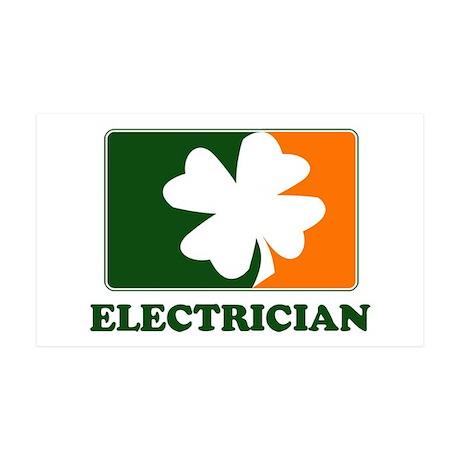 Irish ELECTRICIAN 35x21 Wall Peel