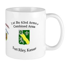 1st Bn 63rd Armor Small Mug