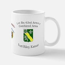 1st Bn 63rd Armor Small Small Mug