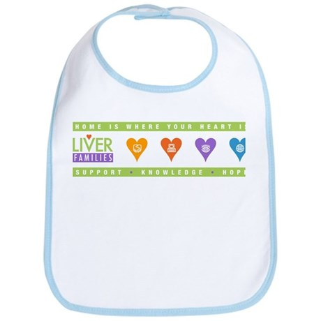 All About Hearts Bib