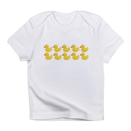 Duck line Creeper Infant T-Shirt