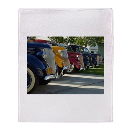 36 Ford Grill Throw Blanket