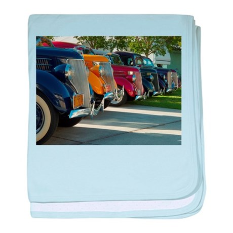36 Ford Grill baby blanket