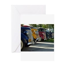 36 Ford Grill Greeting Card