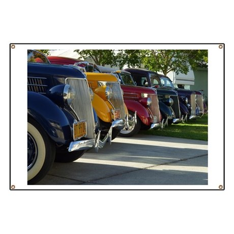 36 Ford Grill Banner