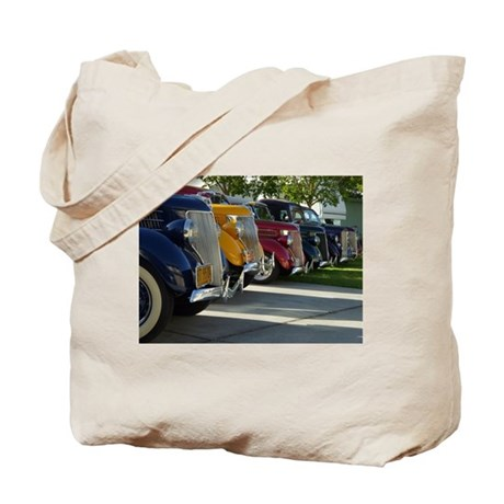 36 Ford Grill Tote Bag
