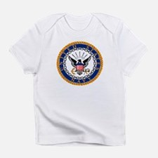 Navy Emblem Infant T-Shirt