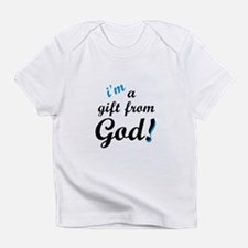 I'm A Gift From God Boy's Creeper Infant T-Shirt