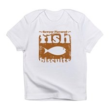 fish biscuits Infant T-Shirt