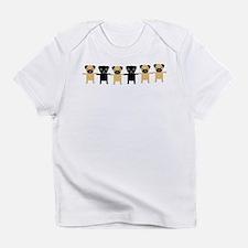 StringOPugs Infant T-Shirt