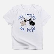 Pug Cousins Infant T-Shirt