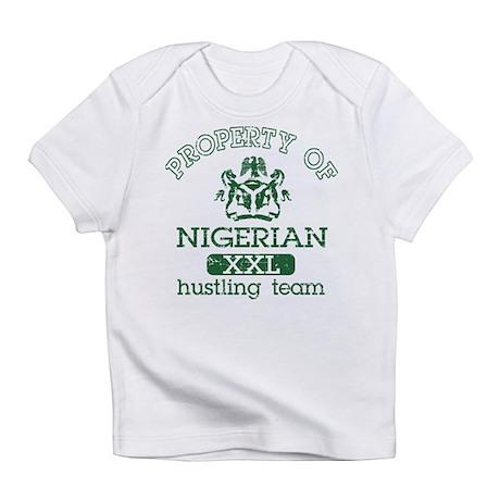nigerian hustling team Creeper Infant T-Shirt