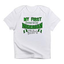 Nigeria baby design Infant T-Shirt
