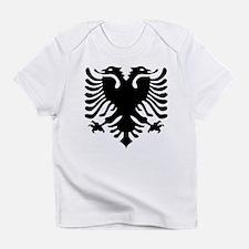 Albanian Eagle Emblem Infant T-Shirt